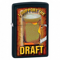 Зажигалка ZIPPO 28294 Support the draft